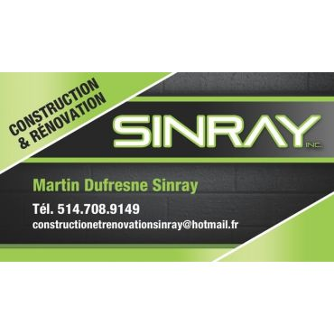 Construction & Rénovation Sinray Inc logo
