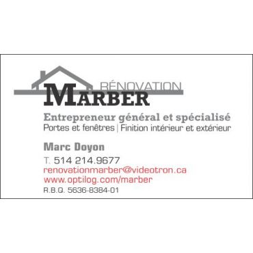 Rénovation Marber logo