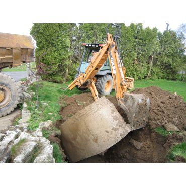 Septic tank removal