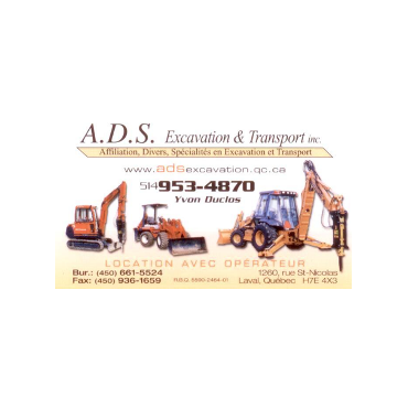 A.D.S. Excavation & Transport Inc logo