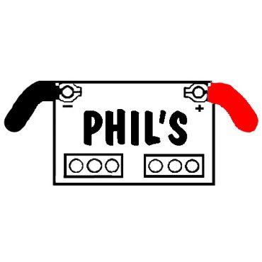 Phil's Batteries & More Inc PROFILE.logo