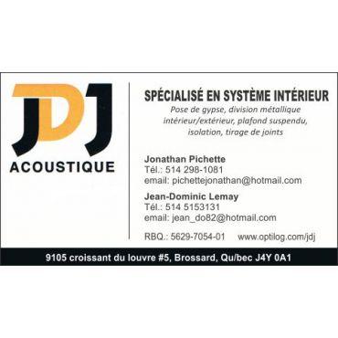 JDJ Acoustique logo