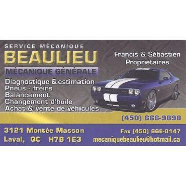Service Mécanique Beaulieu logo
