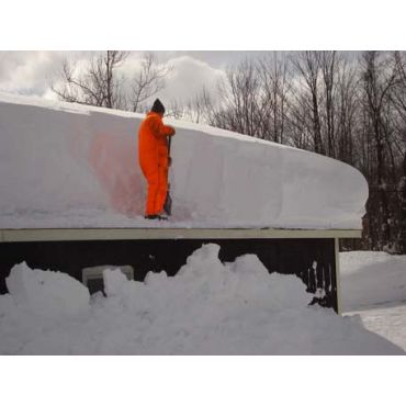 Rooftop snow removal