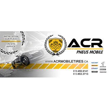 ACR Mobile Tires / Les pneus mobile ACR logo