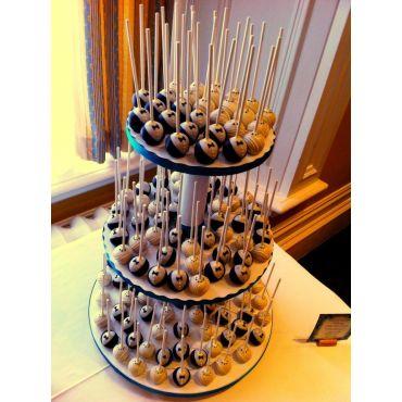 Bake Mob - Wedding cake pop tower