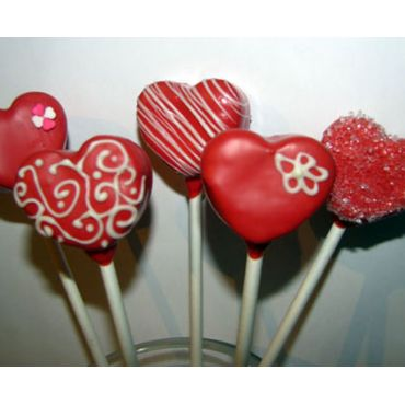 Bake Mob - Valentines Cake Pops