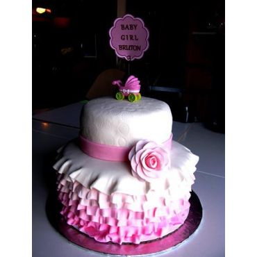 Bake Mob - Baby Shower Cake