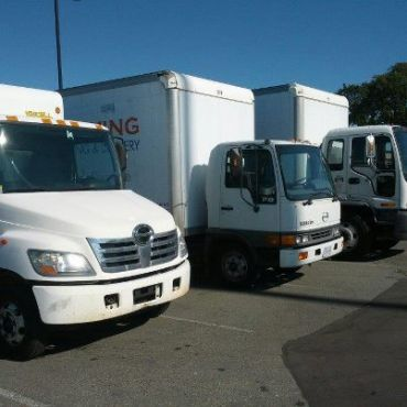 We have trucks for local and far moves