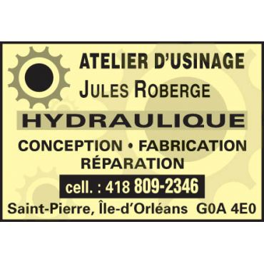 Atelier d'Usinage Jules Roberge PROFILE.logo
