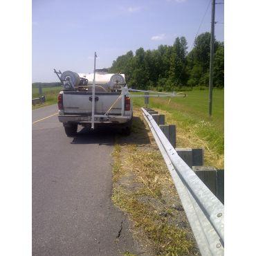 Vegetation Management on Guardrails