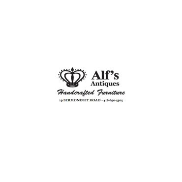 Alf's Antiques and Handcrafted Furniture logo