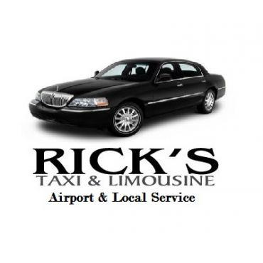 Rick's Taxi & Limo Service logo