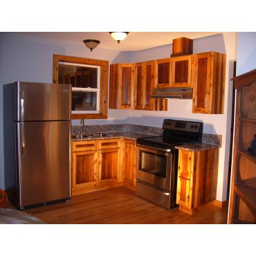 Custom Made kitchen from Raw Materials