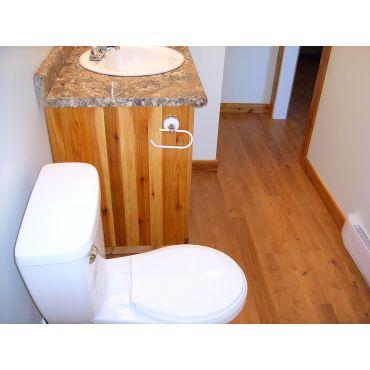 Custom Bathroom Full Through Wood Detail