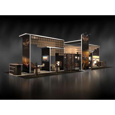 Island Trade Show Booth