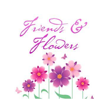 Friends & Flowers logo