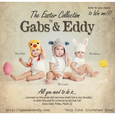 Gabs & Eddy Crocheted Hats