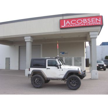 4.5 inch lift with 37 inch tires