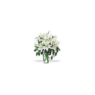 perfection de lys blanc panier ou vase