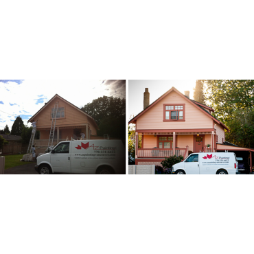 Before and after shots in Langley, BC!