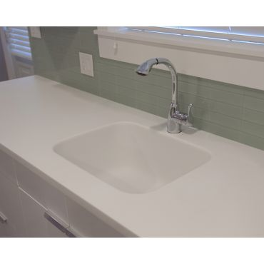 Integral Sinks for Easy Cleaning