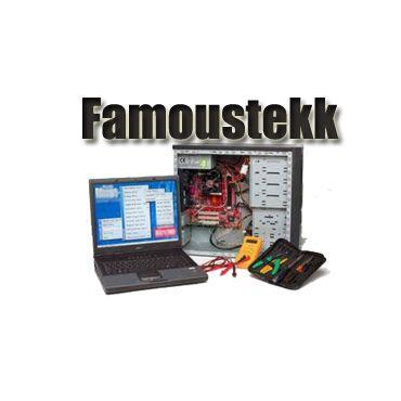 Famoustekk logo