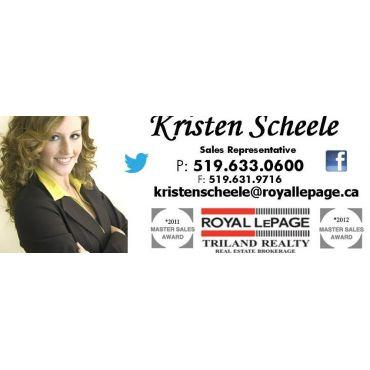 Kristen Scheele - Royal Lepage Triland Realty PROFILE.logo