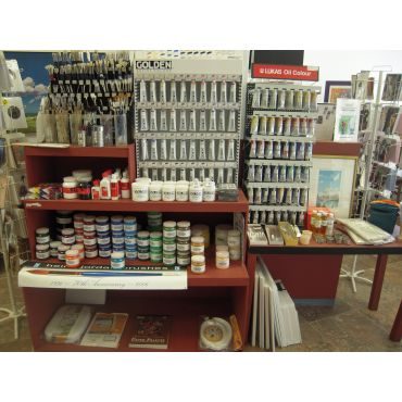 We have a full line of art supplies!