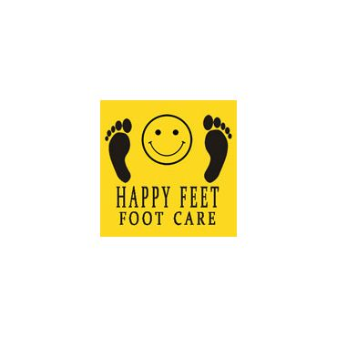 Happy Feet Foot Care logo