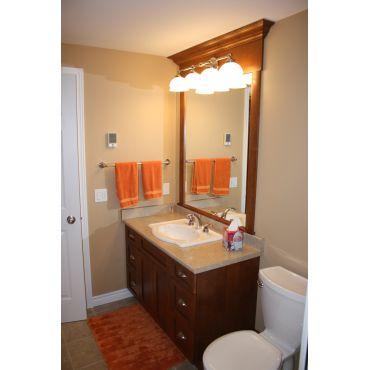 Classy mirror & vanity package