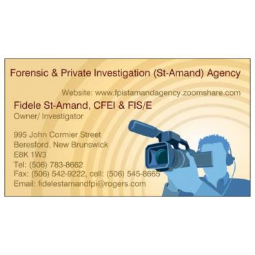 Forensic & Private Investigation (St-Amand) Agency PROFILE.logo