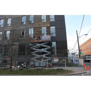 Removing Metal Siding 99 Atlantic Ave.
