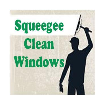 Squeegee Clean Windows logo