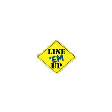 LINE EM UP logo