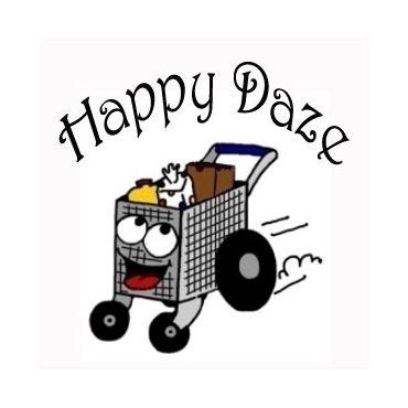 Happy Daze Beer & Food Delivery Service logo