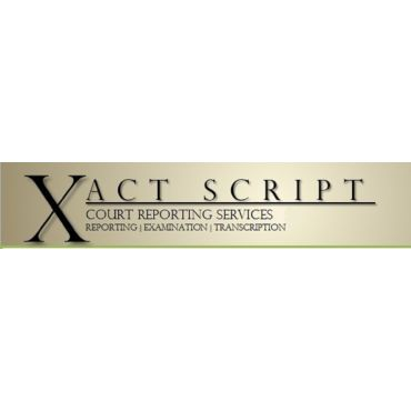 Xact Script Court Reporting Services Inc. logo