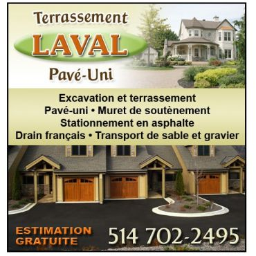 Terrassement Laval Pavé-Uni logo