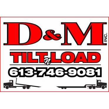 D&M Tilit 'n Load inc logo