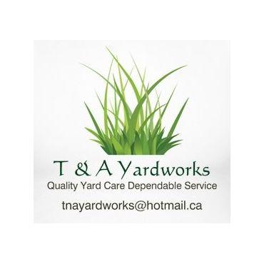 T & A Yardworks logo