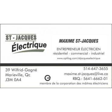 ST-JACQUES ÉLECTRIQUE logo