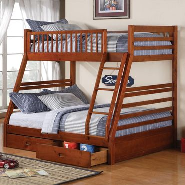 Fraser Twin over Full Bunk Bed