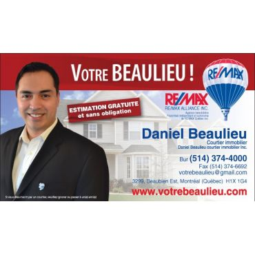 Daniel Beaulieu Courtier Immobilier Remax Alliance Inc. logo