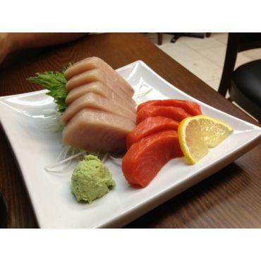 Wild Salmon & Tuna Sashimi