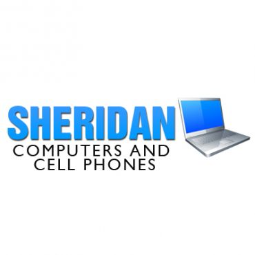 Sheridan Computers and Cell Phones logo