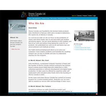 Shores Canada Website