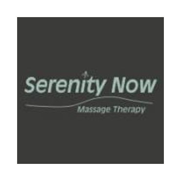Serenity Now Massage Therapy logo