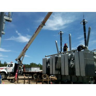 Dressing Transformer Substation Work