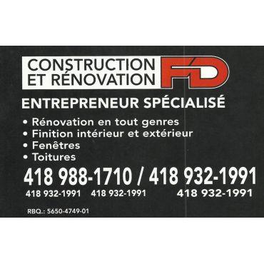 Construction Francis Daigle Inc PROFILE.logo