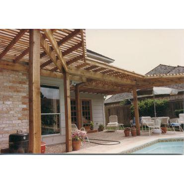 Cedar patio